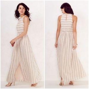 Lauren Conrad Breezy Linen Maxi Dress